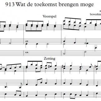 Bladmuziek orgel download