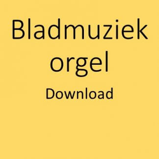 Bladmuziek orgel download