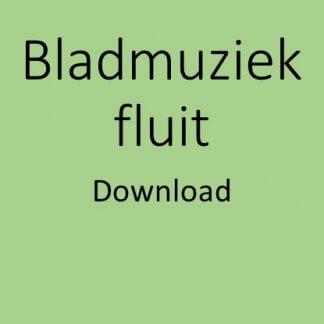 Bladmuziek fluit download