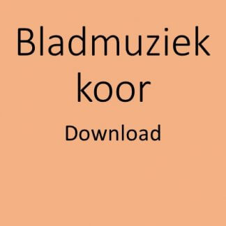 Bladmuziek koor download